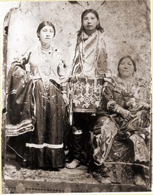 Photo of the Charley Pipestem family